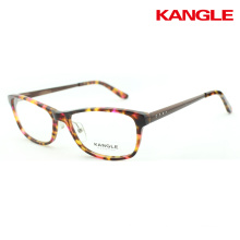 2017 Combination Acetate optical frame new designer eyeglass